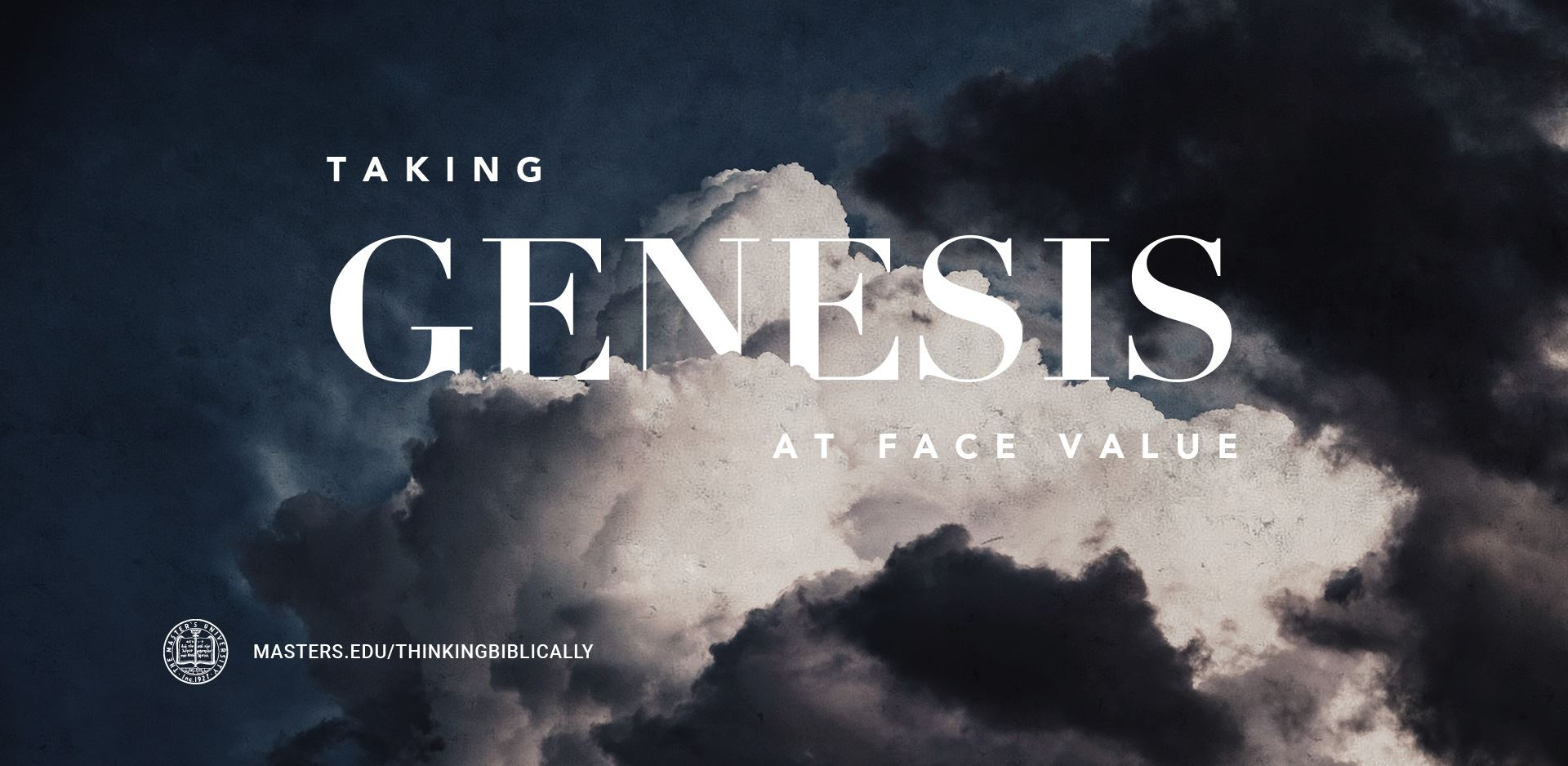 Taking Genesis at Face Value